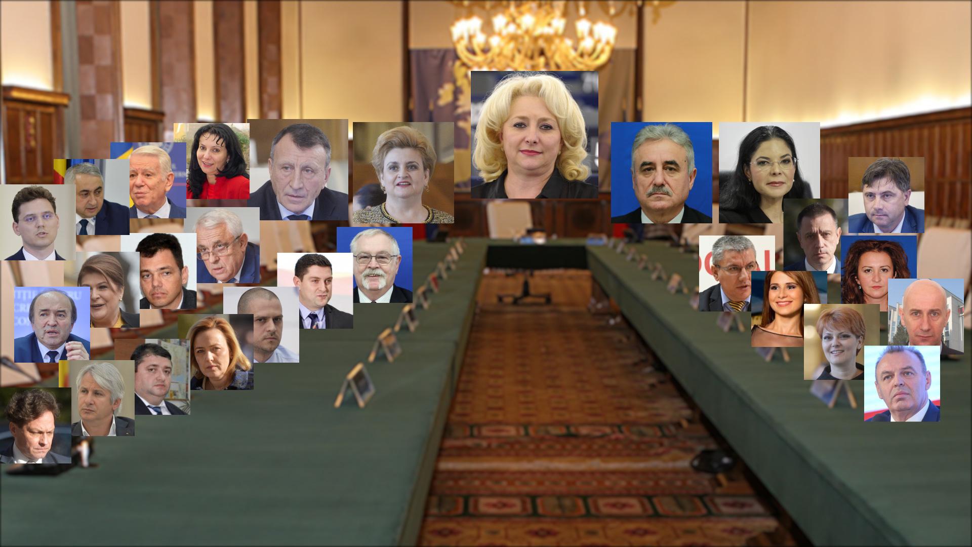 Cine sunt miniştrii cu probleme din Cabinetul Dăncilă. Lista celor care au intrat în vizorul DNA