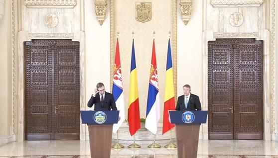 Imaginea articolului Klaus Iohannis, despre cazul Ghiţă, la întâlnirea cu preşedintele Serbiei: Nu e treaba preşedinţilor | VIDEO