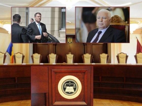 Imaginea articolului Iohannis, prima reacţie după întâlnirea dintre consilierul prezidenţial Simina Tănăsescu şi judecătorul CCR, Petre Lăzăroiu: Nu există nicio presiune şi eu nu fac nicio presiune asupra unui judecător