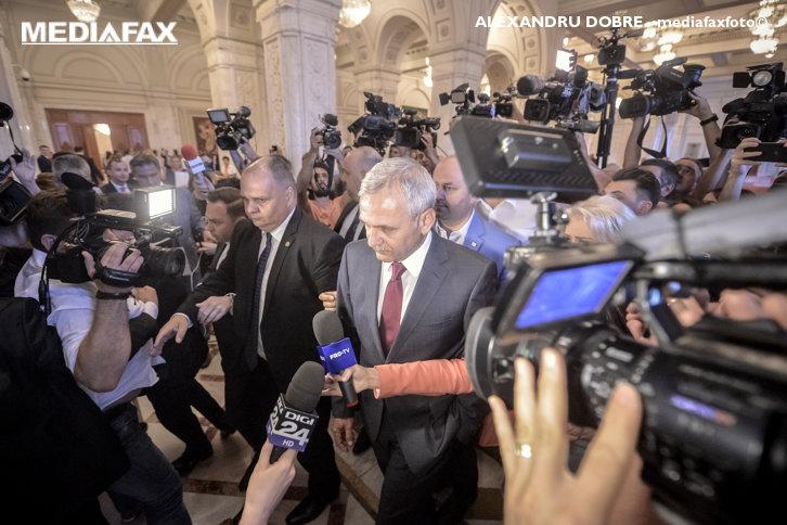Imaginea articolului Dragnea, despre codurile penale: În Parlament nu se mai poate vorbi de adoptarea cu procedură normală
