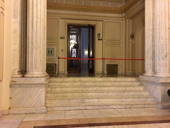 Imaginea articolului Măsuri sporite de securitate în Parlament, în ziua moţiunii de cenzură. FOTO