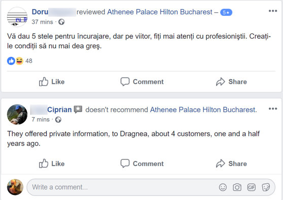 Image of the Athenee Palace Hilton article, internet irony after Dragnea & # 39; s sayings: 4 stars for each hitman