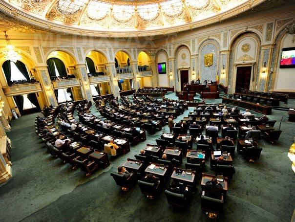 Senatul a adoptat proiectul privind declasificarea deciziei CSAT privind combaterea corupţiei