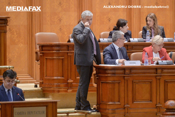 Picture of the USR article, appeal to the Council of Deputies on behalf of Florin Iordache, after the obscure gesture of the plenary session