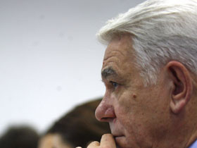 Meleşcanu: După alegeri, va trebui construită o majoritate care să facă din PDL partid de opoziţie (Imagine din arhiva Mediafax Foto)