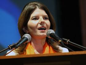 Monica Ridzi spune că un bărbat a încercat să o agreseze (Imagine din arhiva Mediafax Foto)