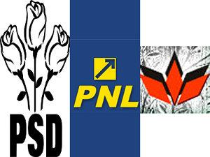 PNL, PSD şi UDMR Braşov au semnat un protocol de colaborare