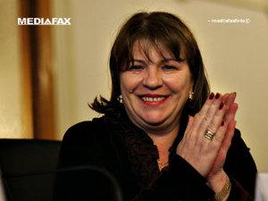 Norica Nicolai: Înclin să candidez pentru Ardeal pentru un post de senator (Imagine: Mediafax Foto)