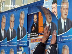 PSD vrea limitarea cheltuielilor partidelor şi micşorarea dimensiunilor afişelor electorale (Imagine: Mediafax Foto)