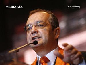 Boc: Modificarea Constituţiei, un moft al PSD (Imagine: Mediafax Foto)