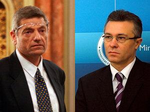 Oren David, ambasadorul Israelului la Bucureşti şi Cristian Diaconescu, ministrul român de Externe (Imagine: Mediafax Foto)