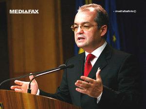 Emil Boc a prezentat priorităţile bugetului pentru 2009 (Imagine: Mediafax Foto)