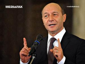 Băsescu: România nu va accepta niciodată conceptul de drepturi colective pentru minorităţi (Imagine: Bogdan Maran/Mediafax Foto)