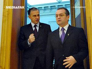 Boc se va consulta cu Geoană pentru desemnarea unui ministru interimar