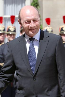 Preşedintele României, Traian Băsescu (Imagine: Mediafax Foto/AFP)