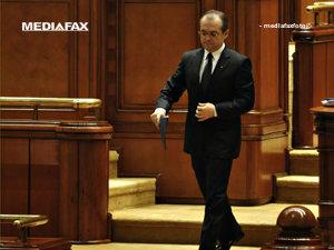 Guvernul Boc 2 a fost demis, moţiunea de cenzură a fost adoptată (Imagine: Andrei Pungovschi/Mediafax Foto)