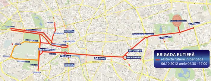 Restricţii De Circulaţie Pentru Crosul Si Maratonul Internaţional