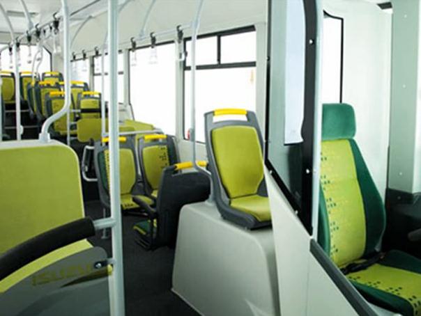 A buszok belseje </br> Forrás: Mediafax.ro