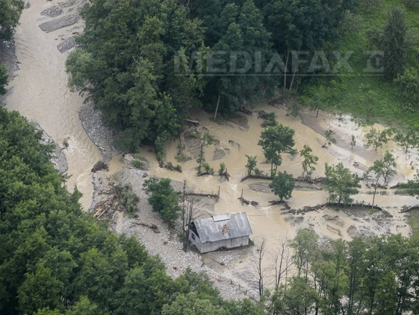 COD GALBEN de inundatii pe r�uri mici din Mures, Alba, Sibiu, Cluj si Bihor