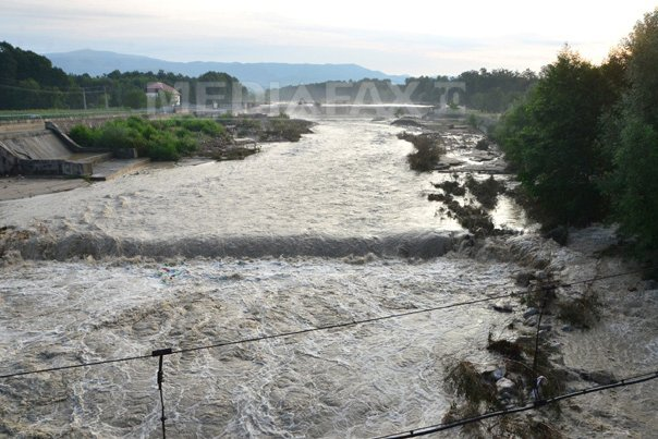 Cod galben de inundatii �n judetul Satu Mare