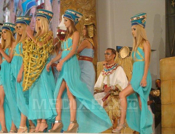 Mazare l-a interpretat pe Ramses al II-lea la ultima editie a carnavalului Mamaia: A fost cea mai complexa si mai spectaculoasa editie - FOTO