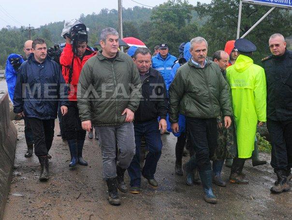 Dragnea la Eselnita: S-au dat autorizatii de constructie �ntr-o zona supusa riscului de calamitate