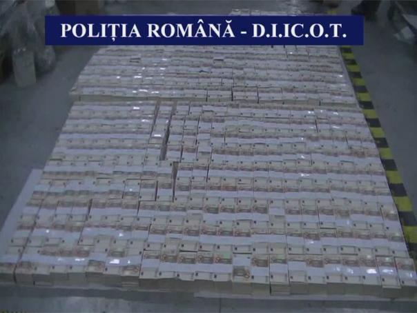 Fabrica de bani falsi, descoperita la Oradea. 90.000 de euro, gasiti la o groapa de gunoi. Trei persoane, retinute de DIICOT - VIDEO