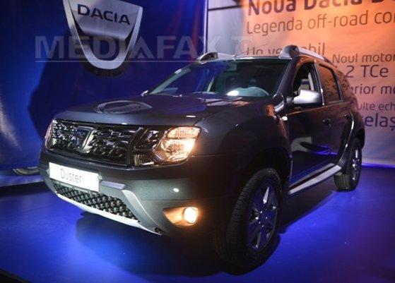 Imaginea articolului MAI cumpără 450 de autoturisme Dacia Duster. Preţul unei maşini este 11.000 de euro