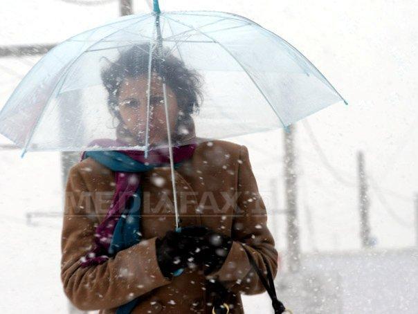 COD GALBEN de ploi si ninsori �n 11 judete. HARTA zonelor afectate