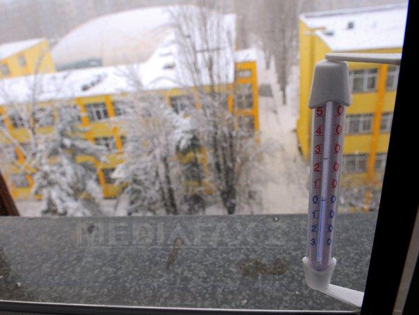 Cea mai scazuta temperatura din tara, minus 8 grade Celsius, la Miercurea Ciuc