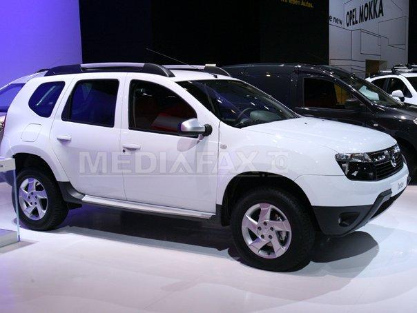 Şase Dacia Duster, donate de uzina de la Mioveni şi de alte companii pentru ţările afectate de Ebola