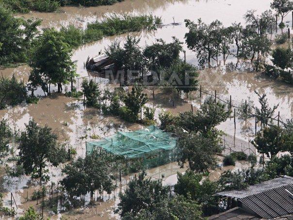 Codul portocaliu de inundatii, prelungit p�na duminica dupa-amiaza �n Teleorman, Giurgiu si Ilfov