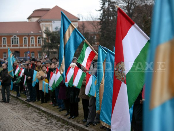 Aproximativ 500 de persoane, la un nou protest organizat de PCM la Sf�ntu Gheorghe