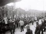 Imaginea articolului 25 DE ANI DE LA REVOLUŢIE: 21 decembrie 1989-prima zi a Revoluţiei la Bucureşti. Mişcarea de stradă, reprimată cu gloanţe