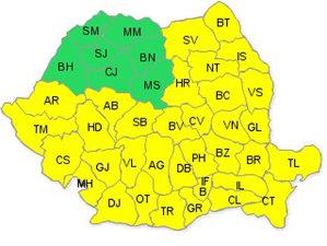 VIN NINSORILE - AŞA arată România începând de astăzi. AVERTISMENTUL meteorologilor
