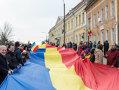 Imaginea articolului Tricolor de 150 de metri, purtat pe străzile din Sfântu Gheorghe, de Ziua Unirii Principatelor - FOTO