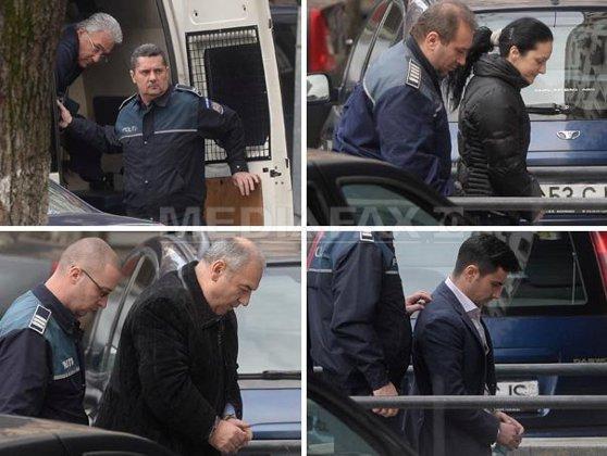 Imaginea articolului Videanu, Bica, Mihăilescu, Dorin şi Alin Cocoş au fost arestaţi