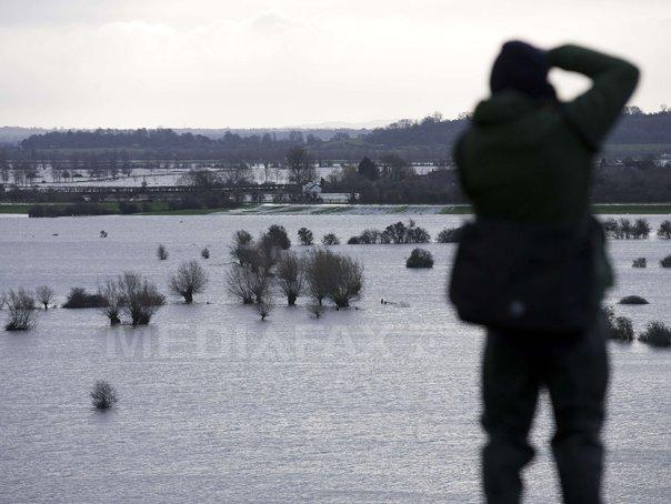 Avertizare cod galben de inundatii �n opt judete. Harta zonelor afectate