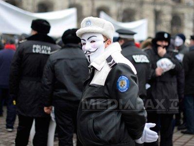Mitingul politistilor locali din Pro Lex reflectat in mass-media