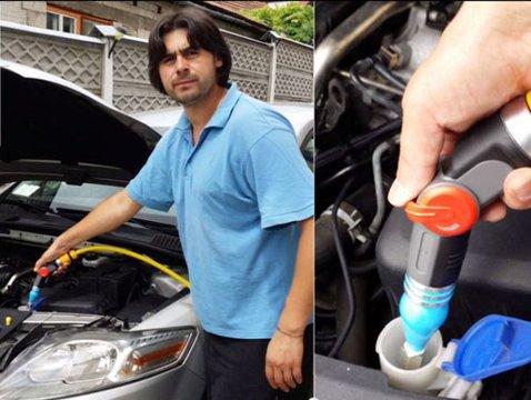"""Românul care a REVOLUŢIONAT industria auto. Cum funcţionează """"Good Fill"""" - VIDEO"""