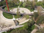 Cum arată Parcul Moghioroş din Drumul Taberei. IMAGINI filmate cu o dronă - VIDEO