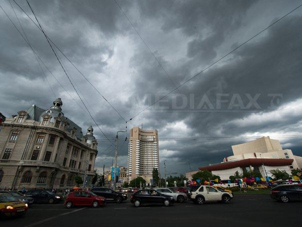 VREMEA va fi instabilă. Prognoza meteo pentru vineri, în ţară, la Bucureşti, la munte şi la mare