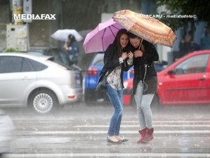 Imaginea articolului COD GALBEN de ploi în mai multe judeţe din nordul ţării