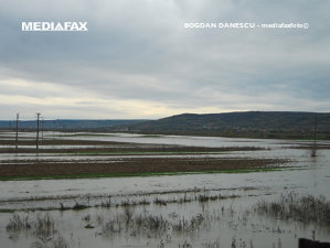 Imaginea articolului COD GALBEN de inundaţii în 12 judeţe din nord, vest şi sud