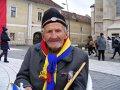 Bătrân de 96 de ani, la Alba Iulia, de 1 Decembrie: Cum să nu iubeşti fiecare brazdă de pământ?