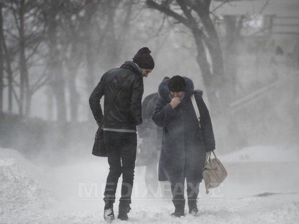 Imaginea articolului ALERTĂ METEO. Se întorc ninsorile şi viscolul. Urmează trei zile de iarnă grea şi temperturi de minus 14 grade Celsius