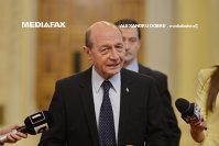 """Imaginea articolului Traian Băsescu, audiat de procurori după dezvăluirile lui Sebastian Ghiţă: """"A fost o declaraţie de martor completă"""""""