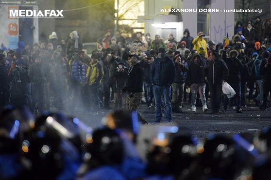 Imaginea articolului Un singur ARESTAT după violenţele de la protestele din Piaţa Victoriei. Alte persoane, sub control judiciar