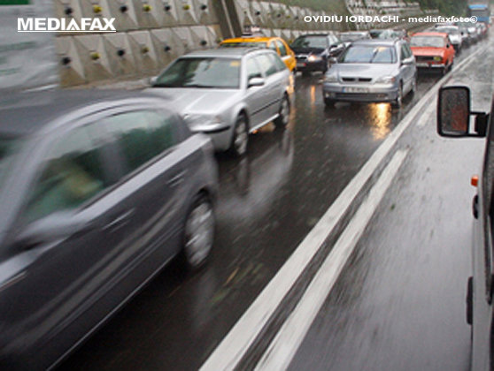 Imaginea articolului Circulaţie în condiţii de PLOAIE pe A3 Bucureşti-Ploieşti