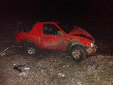 Imaginea articolului Un tânăr a murit după ce o maşină, în care erau şi patru copii, s-a răsturnat în judeţul Vâlcea